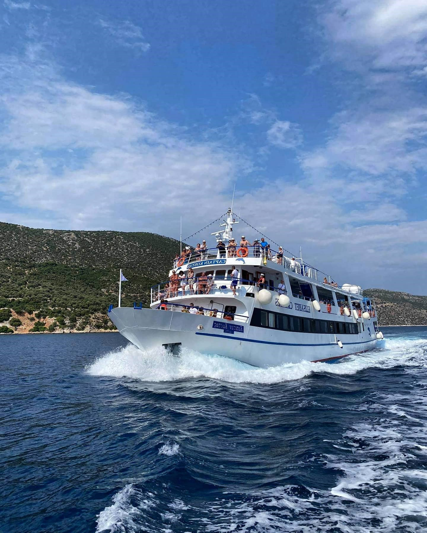 Embark on a voyage with Elisabet Cruises Skiathos to discover The Sporades. Join us for a day cruises to Skiathos, Skopelos. and Alonnisos.